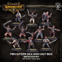 Mercenary Sea Dog Crew (10)                                                       REPACK
